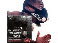 ELEVATION TRAINING MASK 2.0 CARDIO WORKOUT BOXING MMA UFC RUGBY CYCLING
