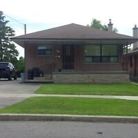 NORTH YORK -  3 + 1 BEDROOM BUNGALOW - Great for Family
