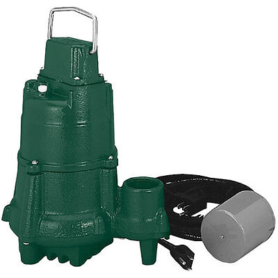 Zoeller Bn98 - 12 Hp Cast Iron Submersible Sump Pump W Tether Float Switch