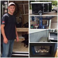 Gas fitter Bbq lines hwts stoves dryer vent relocate!