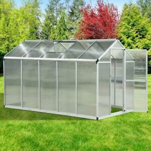 10'x 6.25 x 6.4 Portable Outdoor Walk-In Cold Frame Greenhouse Aluminum Frame / Heavy duty Greenhouse for sale