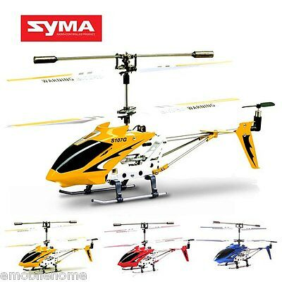 COOL! Syma S107G 3CH Remote Control Helicopter Alloy Copter with Gyroscope