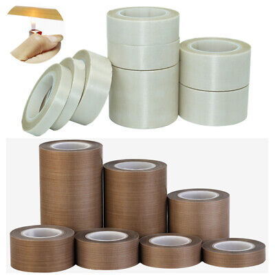 Ptfe Adhesive Tape Cloth Seal High Temperature Heat-resistant 5mm-25mm