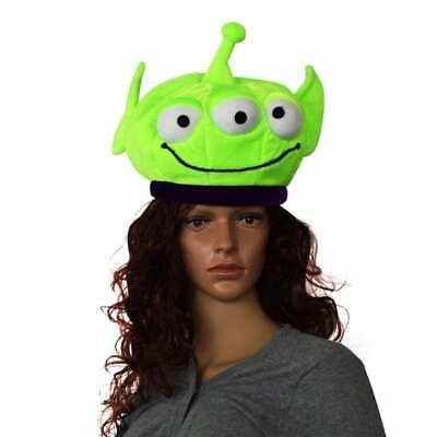Disney Toy Story -Child  Alien Plush Hat - Costume Accessory - (Toy Story Aliens Kostüm)