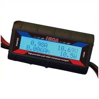 Power Meter For Wind Turbine Generator Or Solar 0-60v 150amp Power Analyser