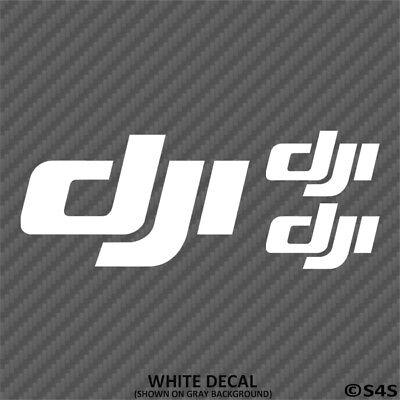 DJI Logo Phantom Vinyl Decal Pack Quad Copter Inspire Spark FPV Mavic Drone