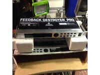 BEHRINGER Feedback Destroyer Pro - boxed