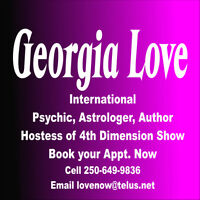 Connect with Georgia Love Apr 29th 7 to 9PM