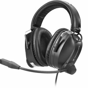 Sennheiser HME 110 Casque pilote. (Headset Aviation Generale)