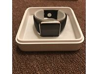 Apple Watch 42mm Stainless Steel with Sport Band in Box