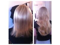 Micro bonds, Nano rings, micro rings, Weave, Cold Fusion, Micro weft/LA Weave, tape in extensions.