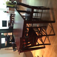 FREE DELIVERY Pub height table 4 chairs good cond nonsmoke home
