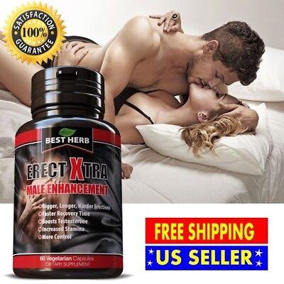 #1 BEST Male Enlargement Sexual Enhancement 60 pills HARDER THICKER LONGER PENIS