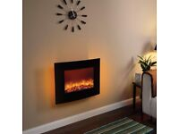 """Electric wall mounted fire Be Modern 25"""" Quattro – (curved)"""