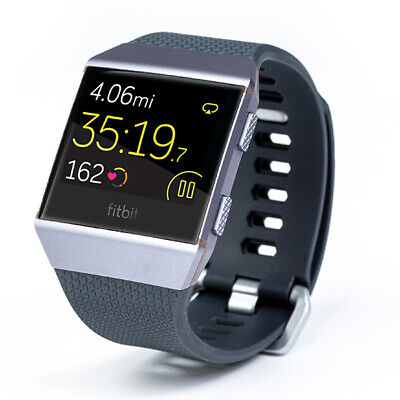 Fitbit Ionic Fitness Watch - Charcoal/Smoke Gray