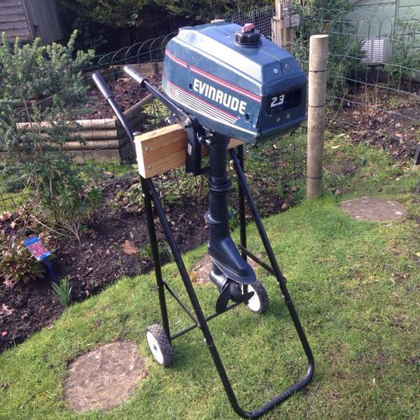 Evinrude 2 3 outboard engine in christchurch dorset for Evinrude outboard jet motors for sale