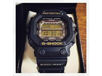 Casio G Shock GX56 Black/Gold very Rare Japanese import