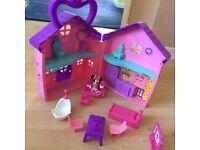 Minnie Mouse play set house