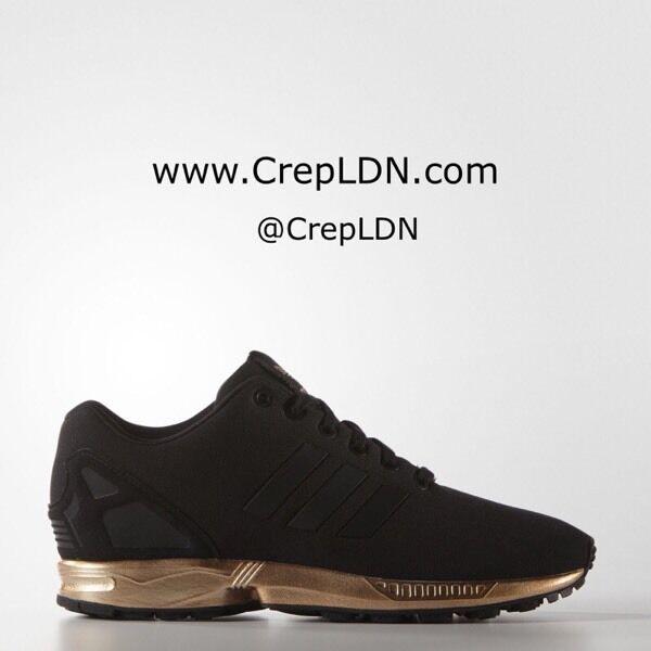 d25e6c4f4 Adidas ZX Flux W Light Copper Metallic Bronze Rose Gold Size UK 4 7.5 EUR  36 41 Brand New S78977