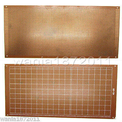 5prototype Pcb Board 1325cm Universal Bread Board 4400 Holes Sigle Side Copper