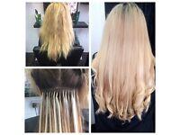 Keratin Fusion Bonds Hair Extensions Specialist - Birmingham