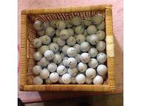 100 Srixon golf balls