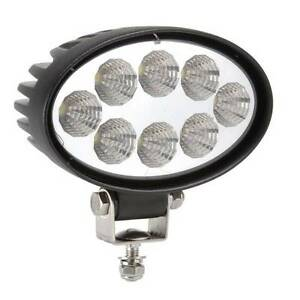 Oval 24W CREE LED WORK LIGHT OFFROAD FLOOD LAMP TRUCK BOAT BAR Wangara Wanneroo Area Preview