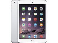 iPad mini 3 mint condition silver 16gb