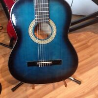 Denver full size classical nylon string guitar