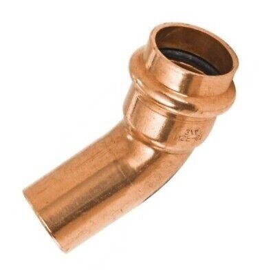 "3/4"" Propress Copper 45 Degree Street Elbow (P x FTG) - PCSF0034"