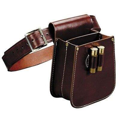 Trap And Skeet Shotshell Shell and Hulls Leather Bag And Belt
