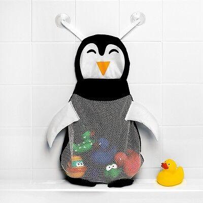 Bath Toy Storage / Penguin bath toy bag - LARGE Storage capacity! Toy Tidy