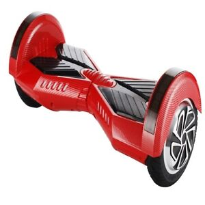 chrome scooter led on side electric hoverboard