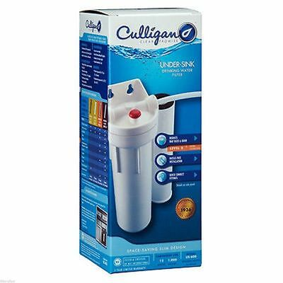 Culligan US-600A Under Sink Carbon Drinking Water Filter 3/8