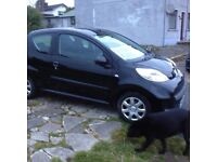 Peugeot 107 only 10 055 miles