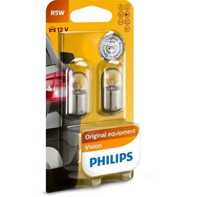 PHILIPS R5W 12V 5W BA15s 2er Blister Glühlampe Glühbirne - 12821B2