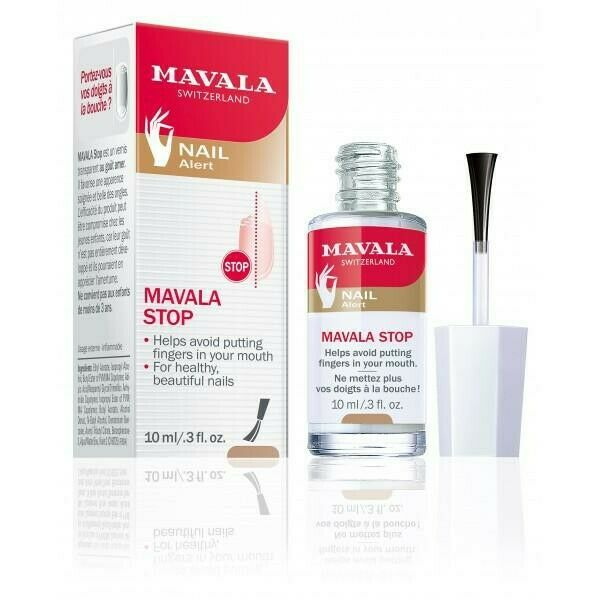 New MAVALA STOP Helps Prevent Nail Biting and Thumb Sucking 10ml/.3 fl oz.
