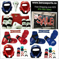 TAEKWONDO SPARRING GEARS ON SALE ONLY @ BENZA SPORTS