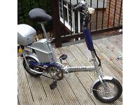 Trendline 24 volt electric folding bike