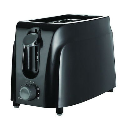 Brentwood 2-Slice Cool Touch Toaster, Black TS-260B New