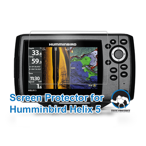 Tuff Protect Anti-glare Screen Protectors for Lowrance HDS-5 Fishfinder 2pcs