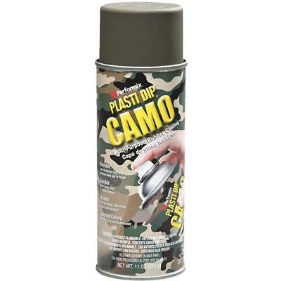 6 Pk 11 Oz Performix Plasti Dip Green Camo Rubber Coating Spray Paint 11217-6