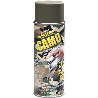 3 Pk 11 Oz Performix Plasti Dip Green Camo Rubber Coating Spray Paint 11217-6