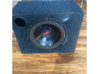 Kenwood subwoofer with JBL GTO 4000 amplifier