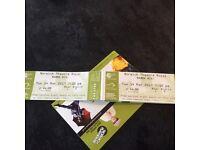 2 tickets for mama Mia @ theatre royal
