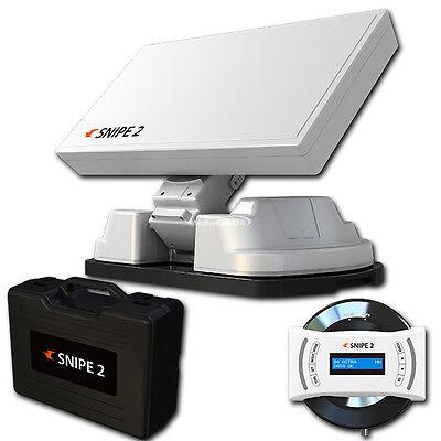 Selfsat Snipe 2 II vollautomatische Satellitenantenne Auto Skew Sat System GPS