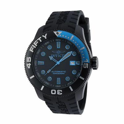 Invicta Men's 50mm TI-22 Automatic Titanium Case Silicone Strap Watch 20522