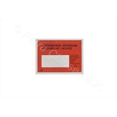 3000 Lieferscheintaschen DIN C6 (Lieferschein/Rechnung)