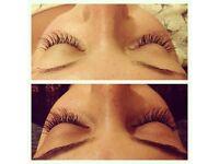 Expert eyelash extensions £35