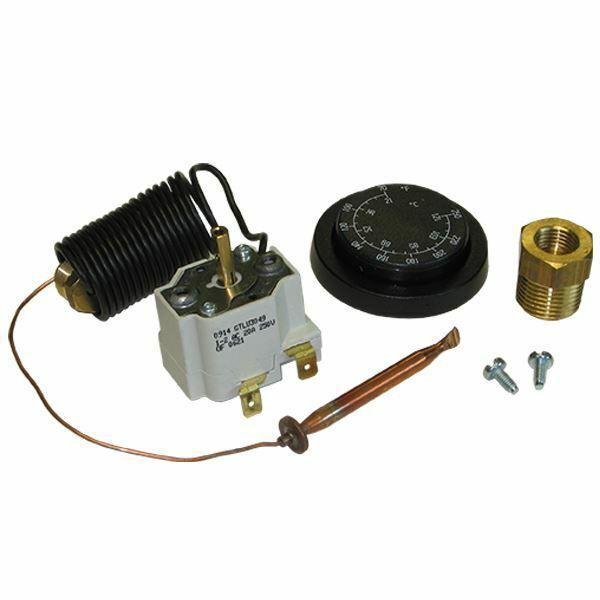 GP 100538 Panel Mount Probe Style Thermostat 86º - 250º